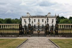 Das Haus Greenwich London der Königin Lizenzfreies Stockbild