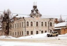Das Haus ist ein Kaufmann des 19. Jahrhunderts Stockbild