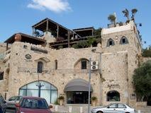 Das Haus und die Museumsgalerie des israelischen Künstlers Ilana Goo lizenzfreie stockfotografie