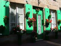 Das Haus von Farben Stockfotos