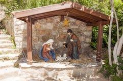Das Haus von Jungfrau Maria, Ephesus, die Türkei Lizenzfreie Stockbilder