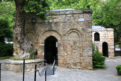 Das Haus von virgine Mary in Ephesus Lizenzfreies Stockbild