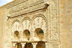 Das Haus von Yafar, arabischer Palast von Medina Azahara, Cordoba, Andalusien, Spanien Stockbild