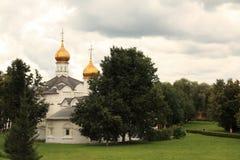 Das heilige Dreiheit-Heilige Sergius Lavra Stockfoto
