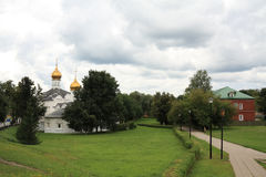 Das heilige Dreiheit-Heilige Sergius Lavra Stockbild