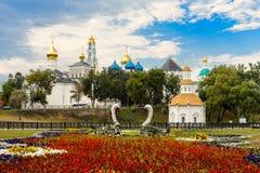 Das heilige Dreiheit-St. Sergius Lavra, Sergiev Posad Lizenzfreies Stockfoto
