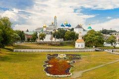 Das heilige Dreiheit-St. Sergius Lavra, Sergiev Posad Stockbilder