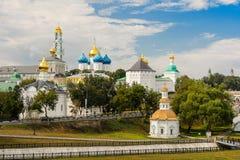 Das heilige Dreiheit-St. Sergius Lavra, Sergiev Posad Lizenzfreie Stockbilder