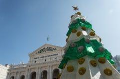 Das heilige Haus des Gnadengebäudes in Macao Stockbild