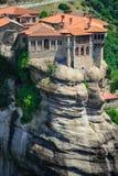 Das heilige Kloster von Varlaam, Meteora, Griechenland Lizenzfreies Stockbild
