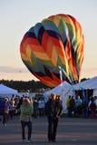Das Heißluft-Ballon-Festival 2016 Adirondack Stockfoto