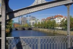 Das Helgoländer Ufer in Berlin Lizenzfreie Stockfotografie