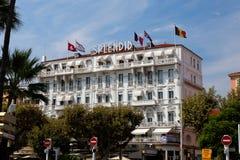 Das herrliche Hotel Lizenzfreies Stockfoto