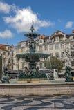 Das Herz des Lissabons - der Bereich †‹â€ ‹Russland stockfotografie