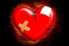 Herz gebrochen Stockbilder