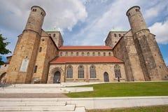 Das Herz von Hildesheim Lizenzfreies Stockfoto