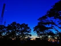 Das Himmel lanscape lizenzfreie stockfotos