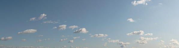 Das Himmelpanorama Stockfoto