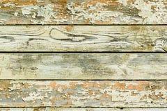 Das Hintergrundbild des alten gelben/roten hölzernen Brettes Textu Stockfotos