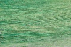 Das Hintergrundbild des alten grünen hölzernen Brettes Beschaffenheit Stockbild