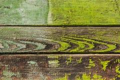 Das Hintergrundbild des alten grünen hölzernen Brettes Beschaffenheit Lizenzfreies Stockfoto