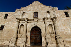 Das historische Alamo, das Mai 2011. Stockbild