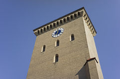 Das historische Gatter Isartor von München im Bayern Stockbilder