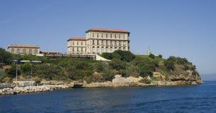 Das historische Landhaus Pharo in Marseille Lizenzfreie Stockfotografie