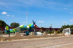 Das historische ³ n Museo de Playa Girà lizenzfreies stockbild