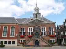 Das historische Rathaus von Vlaardingen Lizenzfreies Stockbild