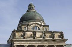 Das historische Staatskanzlei im Bayern Lizenzfreie Stockfotografie