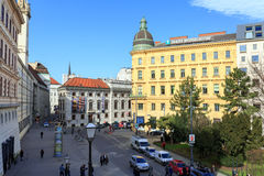 Das historische Stadtzentrum von Wien, Österreich Lizenzfreie Stockfotografie