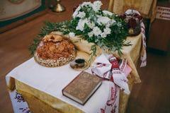Das Hochzeitslaib Stockbild