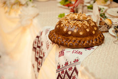 Das Hochzeitslaib Stockfotografie