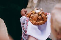 Das Hochzeitslaib Lizenzfreie Stockfotos