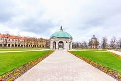 Das Hofgarten von München mit bayerischem Staatskanzleigebäude, München, oberes Bayern, Bayern, Deutschland Stockfotos