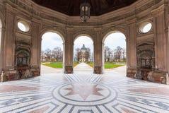 Das Hofgarten von München mit bayerischem Staatskanzleigebäude, München, oberes Bayern, Bayern, Deutschland Lizenzfreie Stockfotos