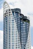 Das hohe Gebäude Lizenzfreies Stockfoto