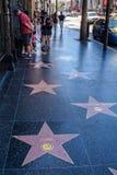 Das Hollywood-Zeichen, das Los Angeles übersieht Lizenzfreies Stockbild