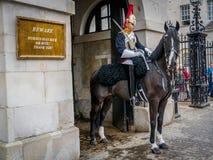 Das Horseguardsman Stockfotos