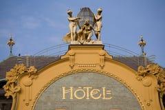 Das Hotel lizenzfreie stockfotografie
