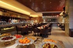 Das Hotelrestaurant Lizenzfreie Stockfotografie