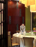 Das Hotelrestaurant Stockbild