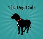 Das Hundeklumpen-Zeichen Lizenzfreies Stockfoto
