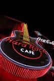 Das ikonenhafte Zeichen von Hard- Rock Caferestaurant Lizenzfreies Stockbild