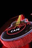 Das ikonenhafte Zeichen von Hard- Rock Caferestaurant Stockfotos