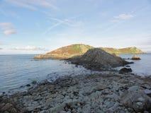 Das Ile Zusatz-Oiseaux - Morbihan - Bretagne - Frankreich lizenzfreies stockbild