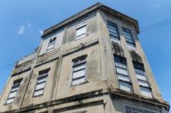 Das im altem Stil Gebäude von Songkhla Lizenzfreies Stockfoto