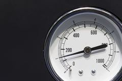 Das industrielle Messgerät Stockfotos