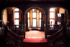 Das Innere des Schlosses Stockfoto